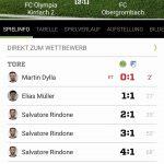 FC Olympia Kirrlach 2 : FC Obergrombach 5:2 (2:1)